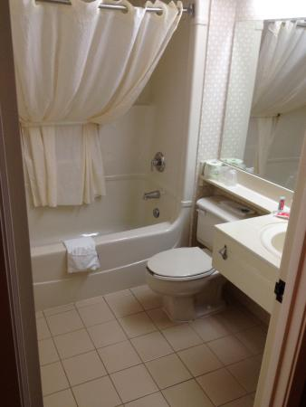 Econo Lodge Airport : The bathroom was clean