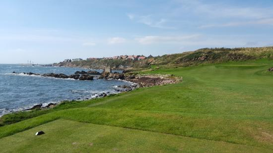 Anstruther Golf Club Marsfield: The view of Pittenweem from the golf course.