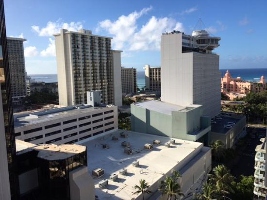 Marine Surf Waikiki : View from 1703 balcony