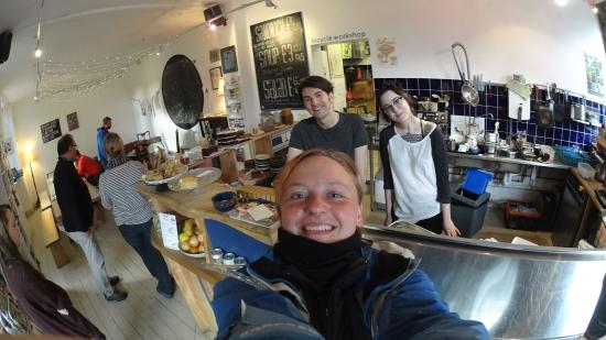 Velocity Cafe & Bicycle Workshop : amazing spot