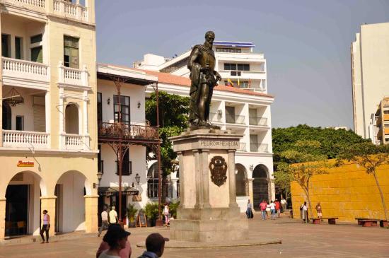 Monumento a Pedro de Heredia