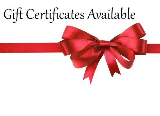 Clinton, NY: Gift Certificates