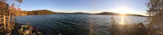 Salem, SC: Panoramic from campsite 11 & 13