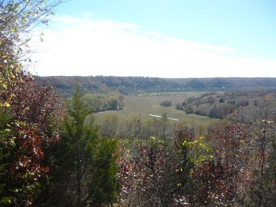 Dixon, มิสซูรี่: Scenic overlook