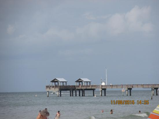 fishing pier foto di clearwater beach clearwater