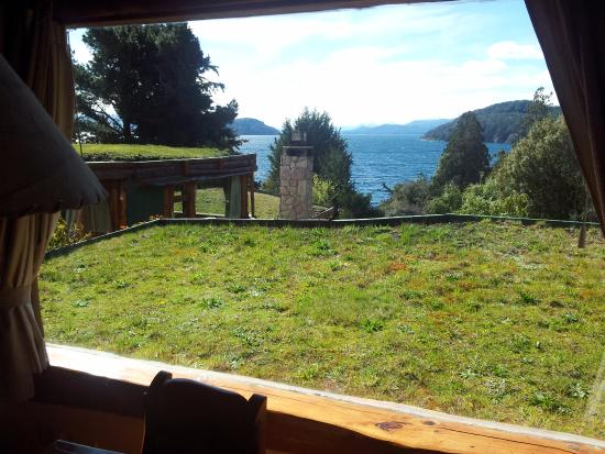 Cabanas La Deseada: Vista