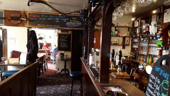 Longnor, UK: Interior view
