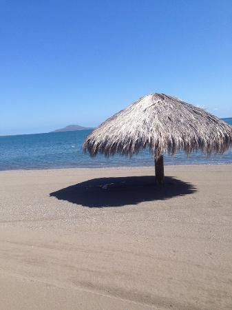 Las Cabanas de Loreto: Palapa near the marina