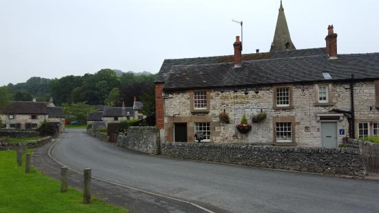 Exterior view of the Sycamore Inn, Parwich