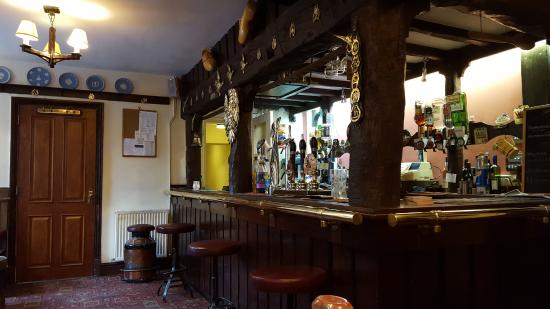 Interior view of the Sycamore Inn, Parwich