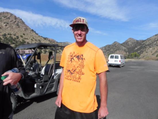 Cotopaxi, Колорадо: Our fabulous tour guide!