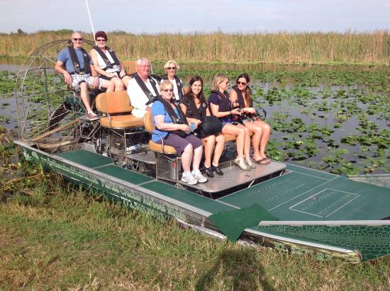 Ready To Go Picture Of Florida Cracker Airboat Rides Vero