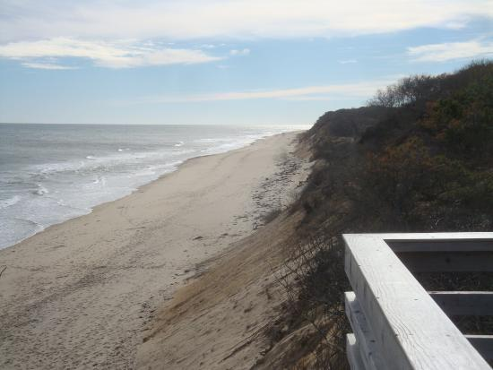 Nauset Light Beach: View of Beach  from Top of Stairs
