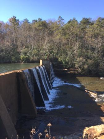 Mentone, AL: the actual falls