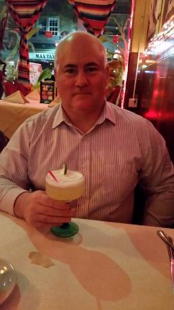 Rubens Mexican Cafe : margarita at Ruben's