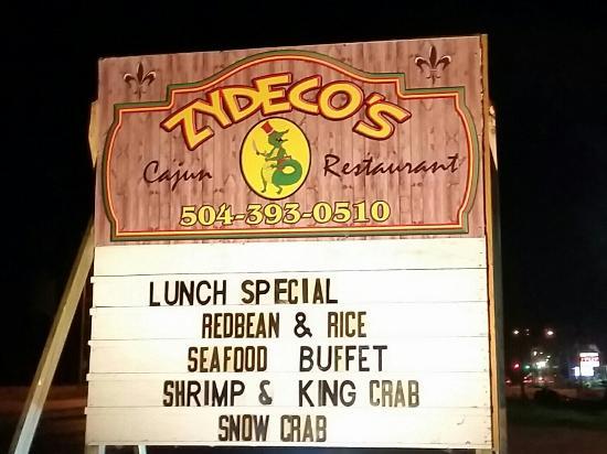 Zydeco's Restaurant and Bar: 20151115_185103-01_large.jpg
