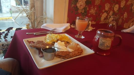 Bedford, Pensilvania: Complimentary breakfast