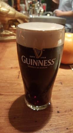 Bedford, Pensylwania: Guinness on tap in the pub