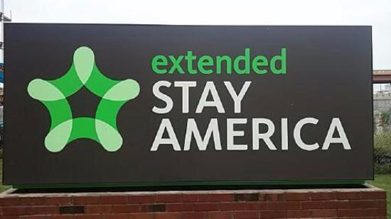 Sign - Picture of Extended Stay America - Fort Worth - Fossil Creek ...