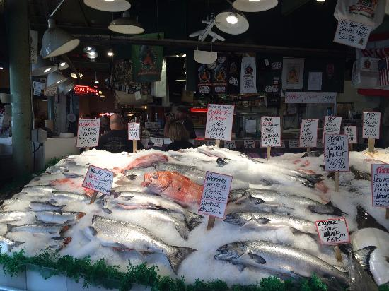 Farmers market picture of pike place fish market for Pike place fish
