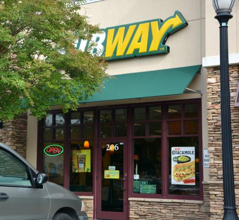 Lunch review of subway charlotte nc tripadvisor for Pool and spa show charlotte nc