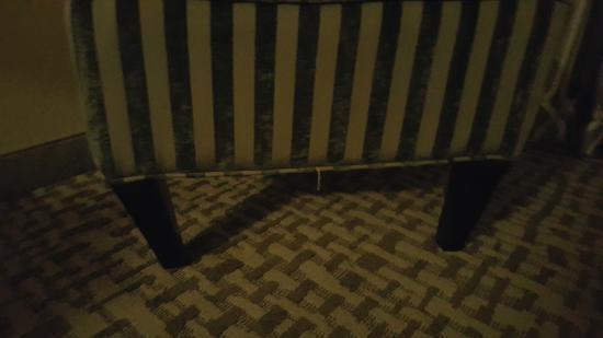 Hilltop Inn: Broken Chair
