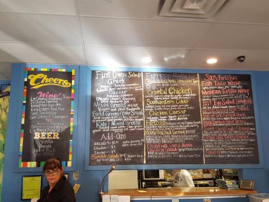 Cafe 1217: What a menu