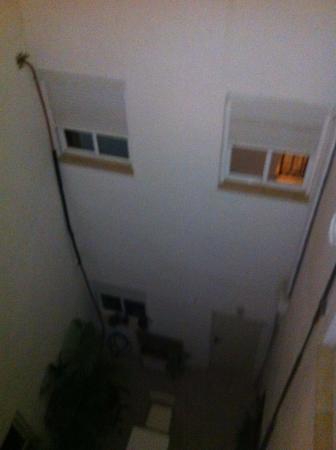 Nomadas hostel: Это заявленный вид на город