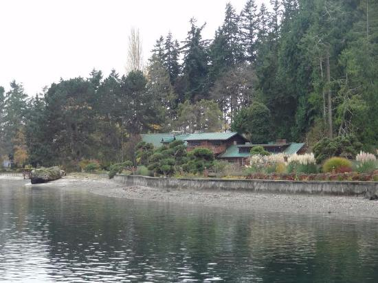 Suquamish, Etat de Washington : view from the property