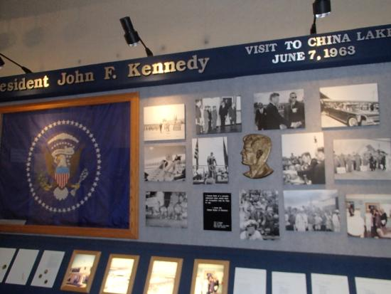 China Lake Naval Weapons Center: President Kennedy Visit