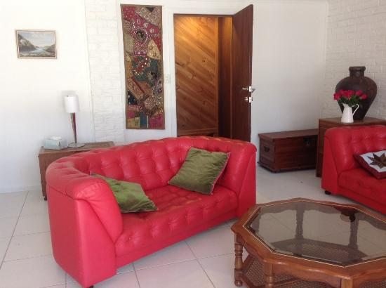 Eumundi Guesthouse and B&B : Downstairs lounge area