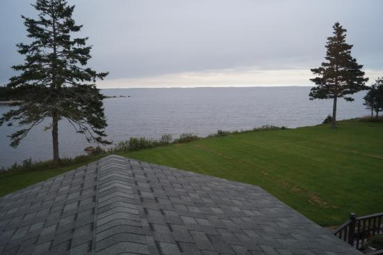 Guysborough, Canadá: Ocean view from our room.