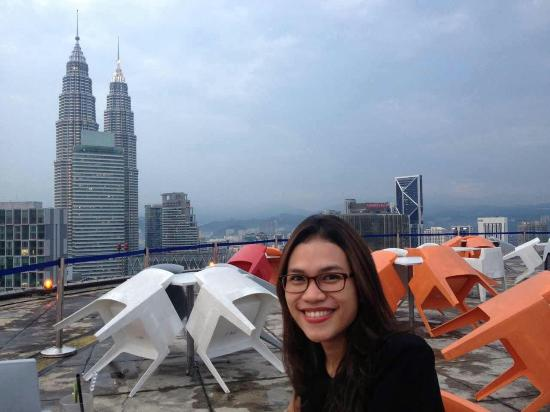 helipad lounge, level 35 - Picture of Heli Lounge Bar, Kuala Lumpur on