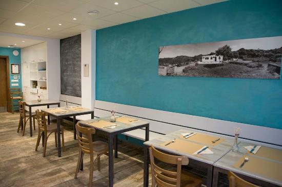 Fang i Aram Restaurant Vegetarià: Cuadro de nuestro querido hortal o campo