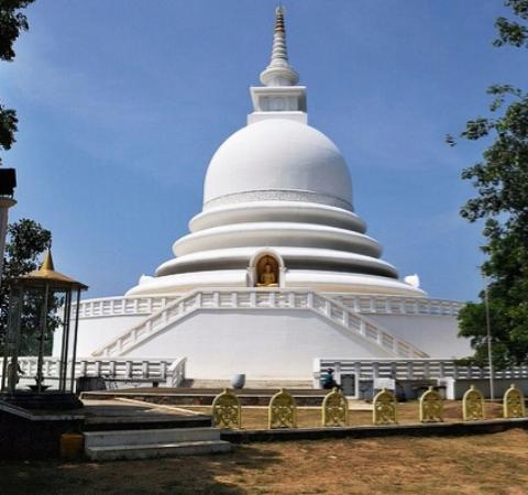 Rumasalla Mountain: Белая пагода на горе