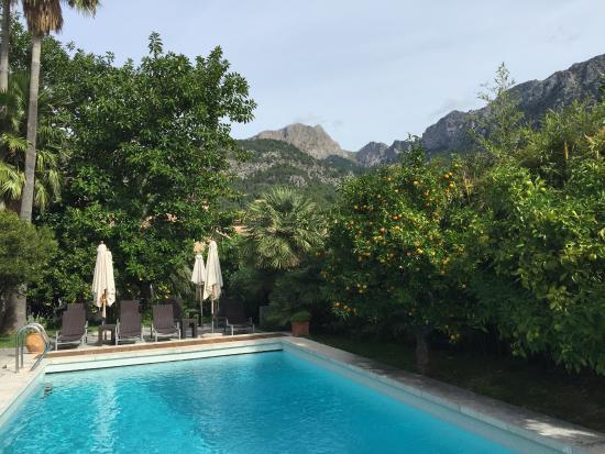 Fornalutx, Hiszpania: pool