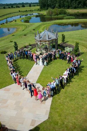 The Old Hall Bed & Breakfast: Wedding Day 'Heart'