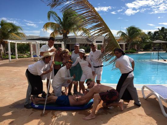 Melia Buenavista: personnel joyeux et adorable , merci à eux