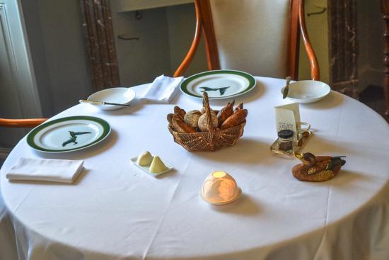 Vufflens-le-Château, Schweiz: Notre salle à manger