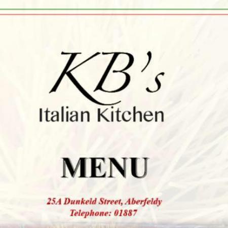 Kb 39 s italian kitchen aberfeldy restaurant reviews for Italian kitchen hanham phone number