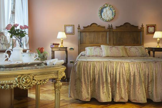 Boutique Hotel Villa Sostaga: junior suite con terrazza