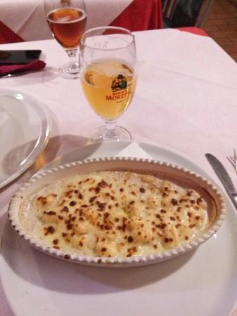 Pizzeria Grand Prix Motor Pub: Gnocchi grand prix