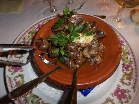 Cavanac, Francia: Escargots façon Carcassonne