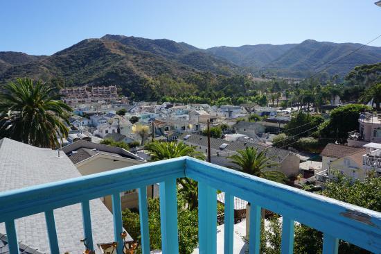 La Paloma Cottages Las Flores: View from Apartment #16 Balcony/porch