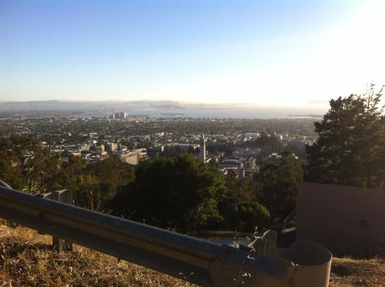 Berkeley Lab Guest House: spectacular view of Bay area