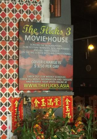 The Flicks Community Movie Houses: Great way to see a movie on a hot day