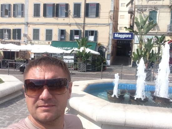 Hotel Centro: фонтаны