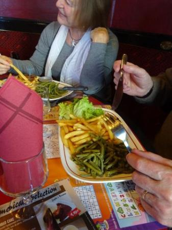 Buffalo Grill Chalons en Champagne : Viande hachée