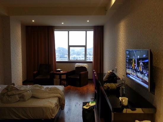 Baigong Boutique Hotel Guilin: ホテルの部屋