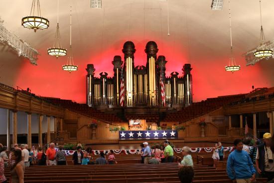 Tabernacle Organ Recitals: orgue